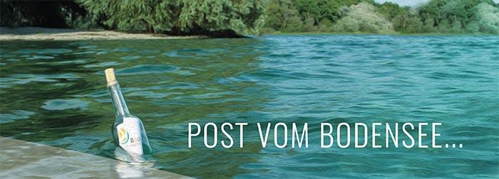 Flaschenpost vom Bodensee-Institut